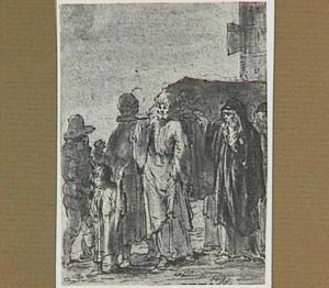 Lazarillo komt een lijkstoet tegen (Lazarillo de Tormes dl. 1, cap. 14, p. 39)