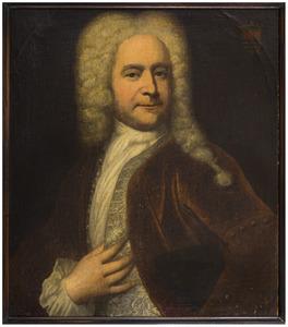 Portret van Charles van Baerle ( 1671-1734)