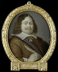Portret van Joannes Cools (1611-..), jurist te Hoorn