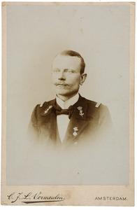Portret van Willem Frederik Gaymans (1866-?)