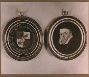 Portret van mr. P. Codde; op de bodem van het doosje: heraldisch wapen
