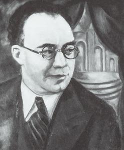 Portret van Elias van Praag (1884-1942)