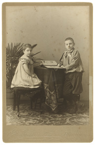 Portret van Pieter Marks (1893-1981) en Alberta Marks (1897-1945)