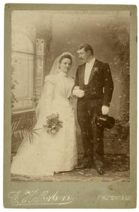 Portret van Christiaan Houdijn Beekhuis (1874-1952) en Johanna Martina Dutry van Haeften (1875-1942)