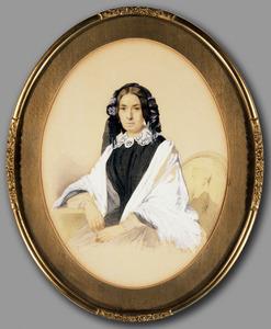 Portret van Johanna Margaretha Rijnders (1805-1859)