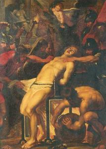 Het martyrium van de Heilige Laurentius