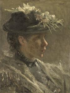 Modelstudie van Sijtje van Bemmel (1880-1963)