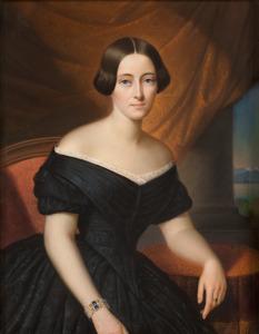 Portret van Isabelle Antoinette Sloet van Toutenburg (1823-1872)