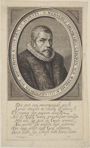 Portret van Werner Helmich (1550-1608)