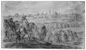 Het leger van Lodewijk XVI trekt Douai binnen, 7 juli 1667