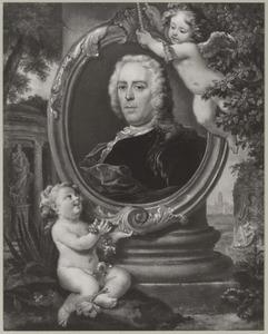 Portret van Pieter Rabus (1693-1752)