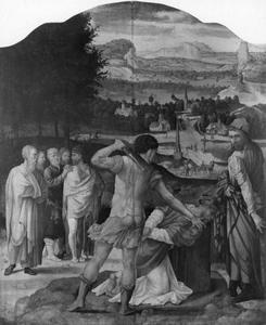 De onthoofding van de H. Dionysius