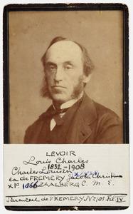 Portret van Louis Charles Levoir (1832-1908)