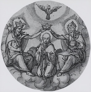 De kroning van Maria