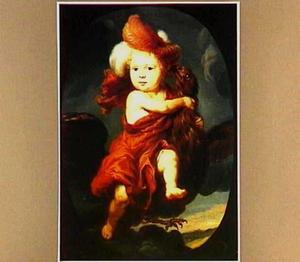 Portret van een jongetje als Ganymedes