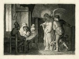 De engel in het huis van Tobias
