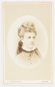 Portret van Elisabeth Hiddingh (1852- )