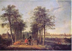 De laan in Meerdervoort, Dordrecht