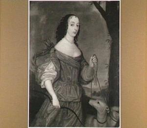 Portret van Elisabeth, gravin van Nassau