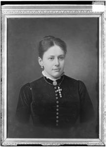 Portret van een vrouw, mogelijk Engelbartha Maria Bernardina Alouisa Augusta van Middachten (1835-1890)