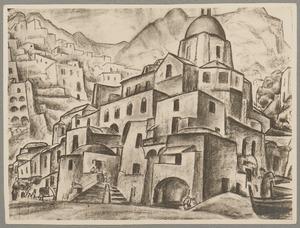 Stadsgezicht Positano