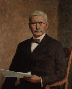 Portret van Friedrich Wilhelm Raiffeisen (1818-1888)