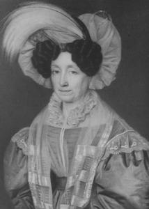 Portret van Johanna Balthazarina van Idsinga (1783-1850)