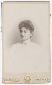 Portret van Hanna van Wijngaarden
