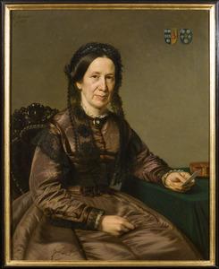 Portret van Peggy Bake (1813-1892)