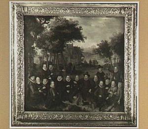 Officieren van de Oude Schutterij te Alkmaar
