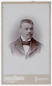 Portret van Gerardus Adrianus van Wageningen (1873-1945)