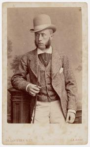Portret van Joan Adriaan Hugo van Zuylen van Nyevelt (1854-1940)