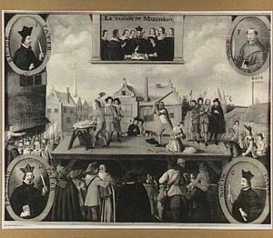 De terechtstelling van de beklaagden inzake het verraad van Maastricht in 1638
