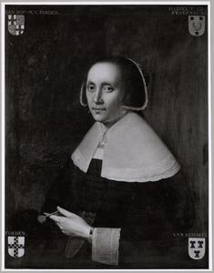 Portret van Jacomina van Doorn van Voirde ( -1678)
