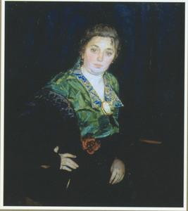 Portret van Marie Boendermaker-Schoenmaker (1882-1957)