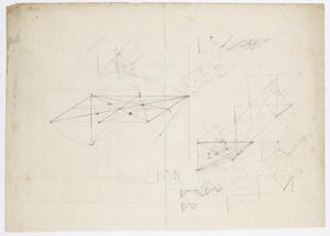 Geometrische voorstellingen (perspectiefstudies?)