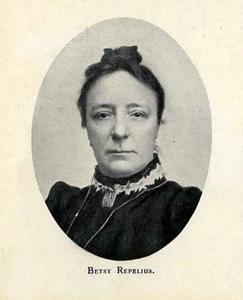 Portret van Betsy Repelius (1848-1921)