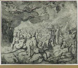Huwelijksfeest van Peleus en Thetis
