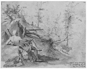 Argus en Io in een boslandschap (Metamorfosen 1:668-721)