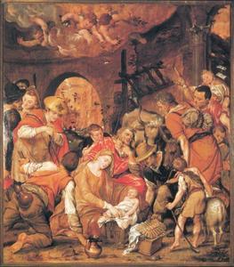 De aanbidding van de herders