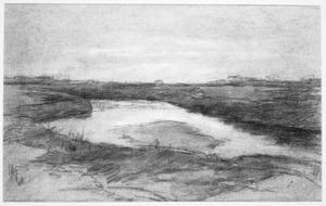 Meandering watercourse