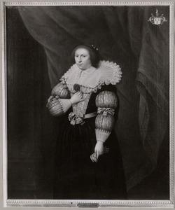 Portret van Emilia van Zuylen van Nievelt (....-1677)