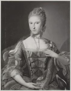 Portret van Juliana Florentina Reiniera van Rechteren (1743-1768)