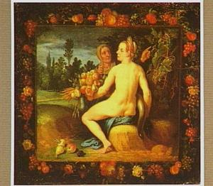 Vertumnus en Pomona (Ovidius, Metamorfoses 14:623-700)