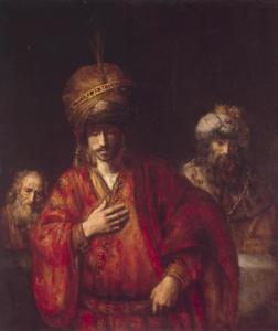 Haman erkent zijn noodlot (Ester 6: 6-10)