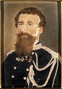 Portret van Theodorus Prins (1810-1895)
