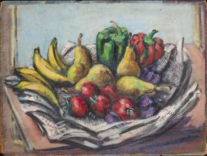 Groenten- en fruitstilleven