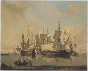 Hollandse oorlogsschepen