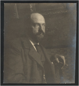 Portret van Geo Poggenbeek