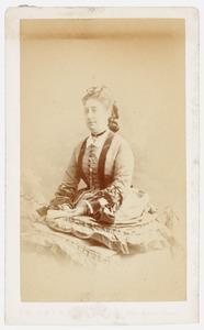 Portret van Sophie Alexandrine van der Staal (1849-1891)